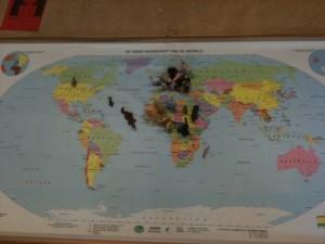 dieren landkaart