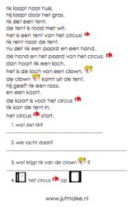 rik gaat naar het circus