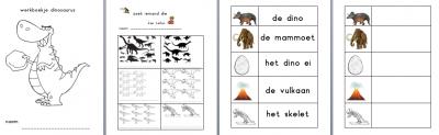 Werkboekje dinosaurussen