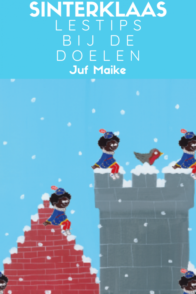 Lestips bij de doelen Sinterklaas kleuters