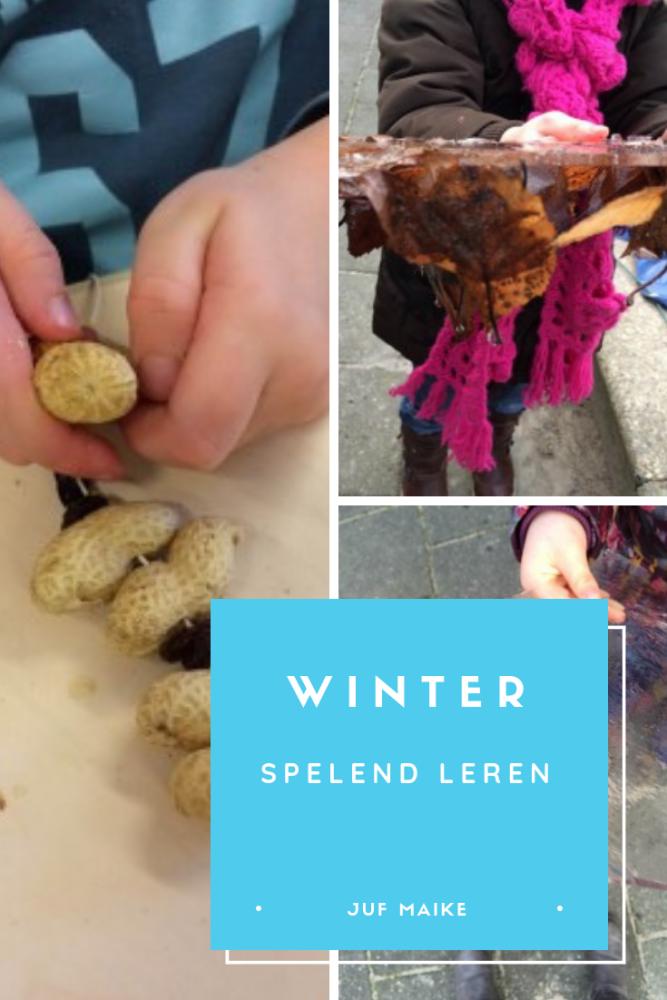 Winter: spelend leren