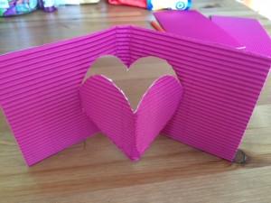 Valentijnsdag Pop up hart