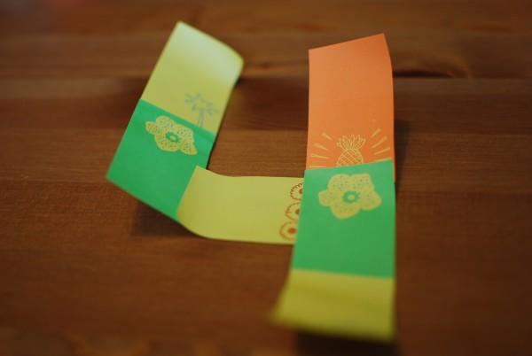 Cijfer van sticky notes