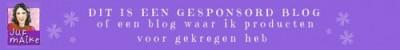 Banner gesponsord blog