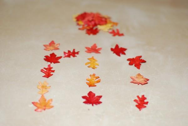 Letters maken herfst