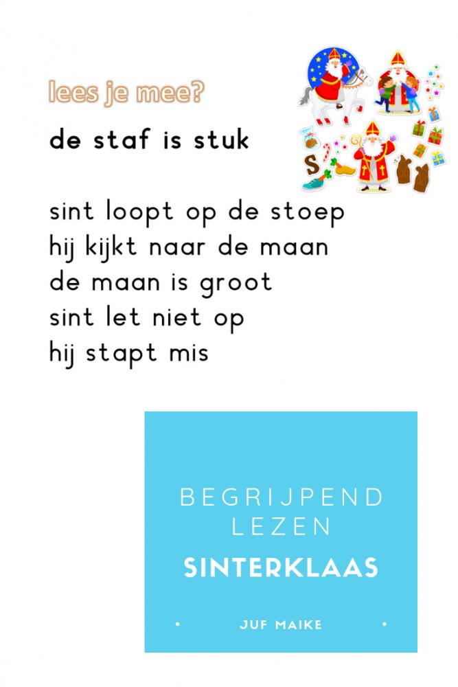 Begrijpend lezen Sinterklaas