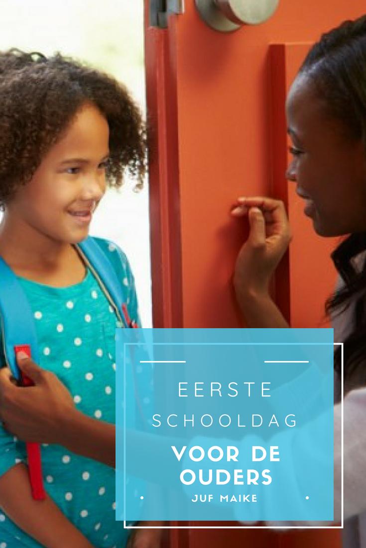 Eerste schooldag, een brief voor de ouders