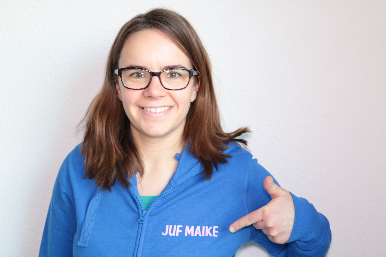 Juf Maike sweater