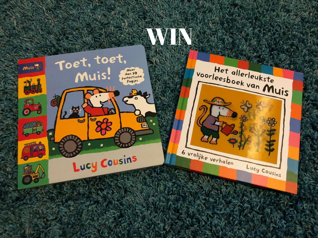 WIN: twee nieuwe boeken van Muis