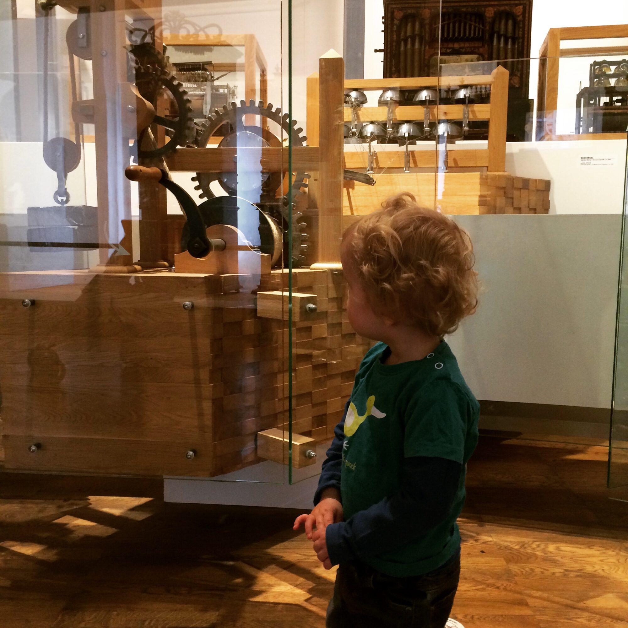 Museum Speelklok met peuter