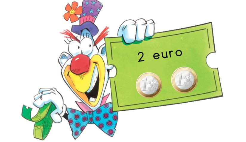 Kaartje circus geld