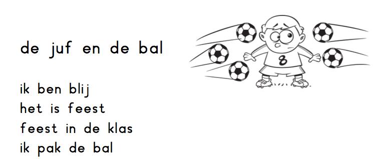 De juf en de bal