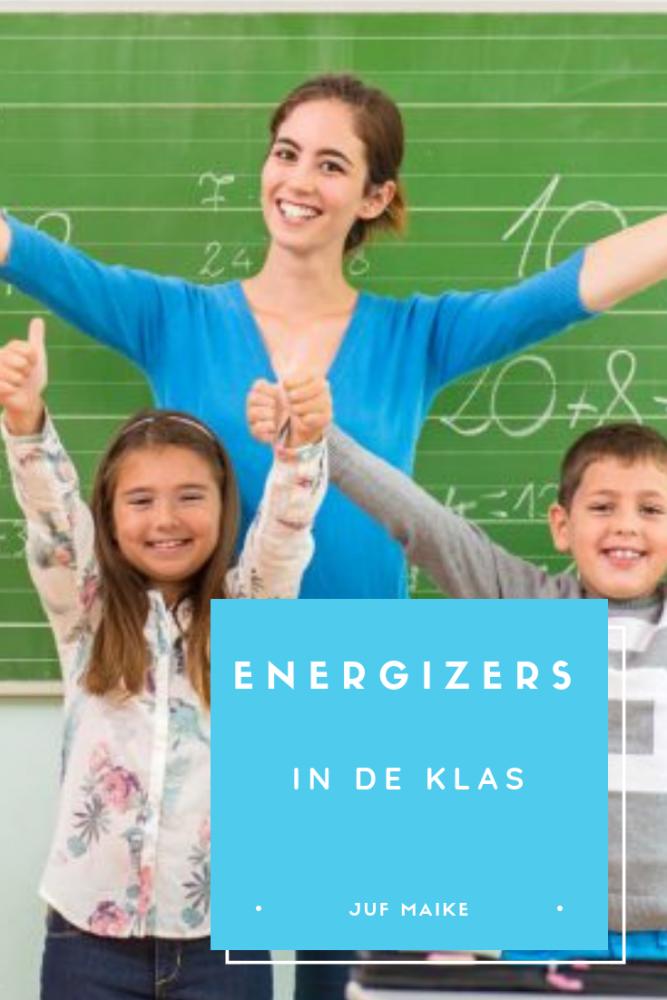 Energizers in de klas