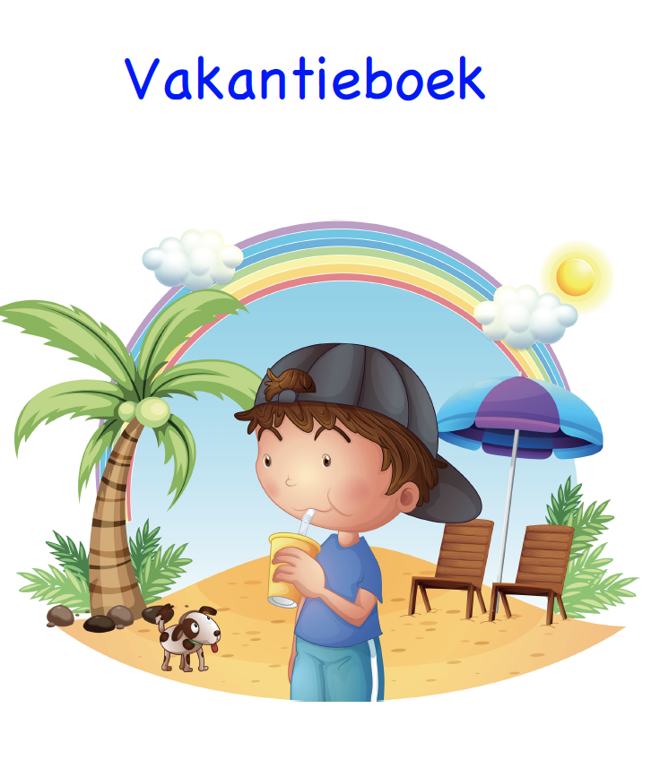 Vakantieboek kind in kleur