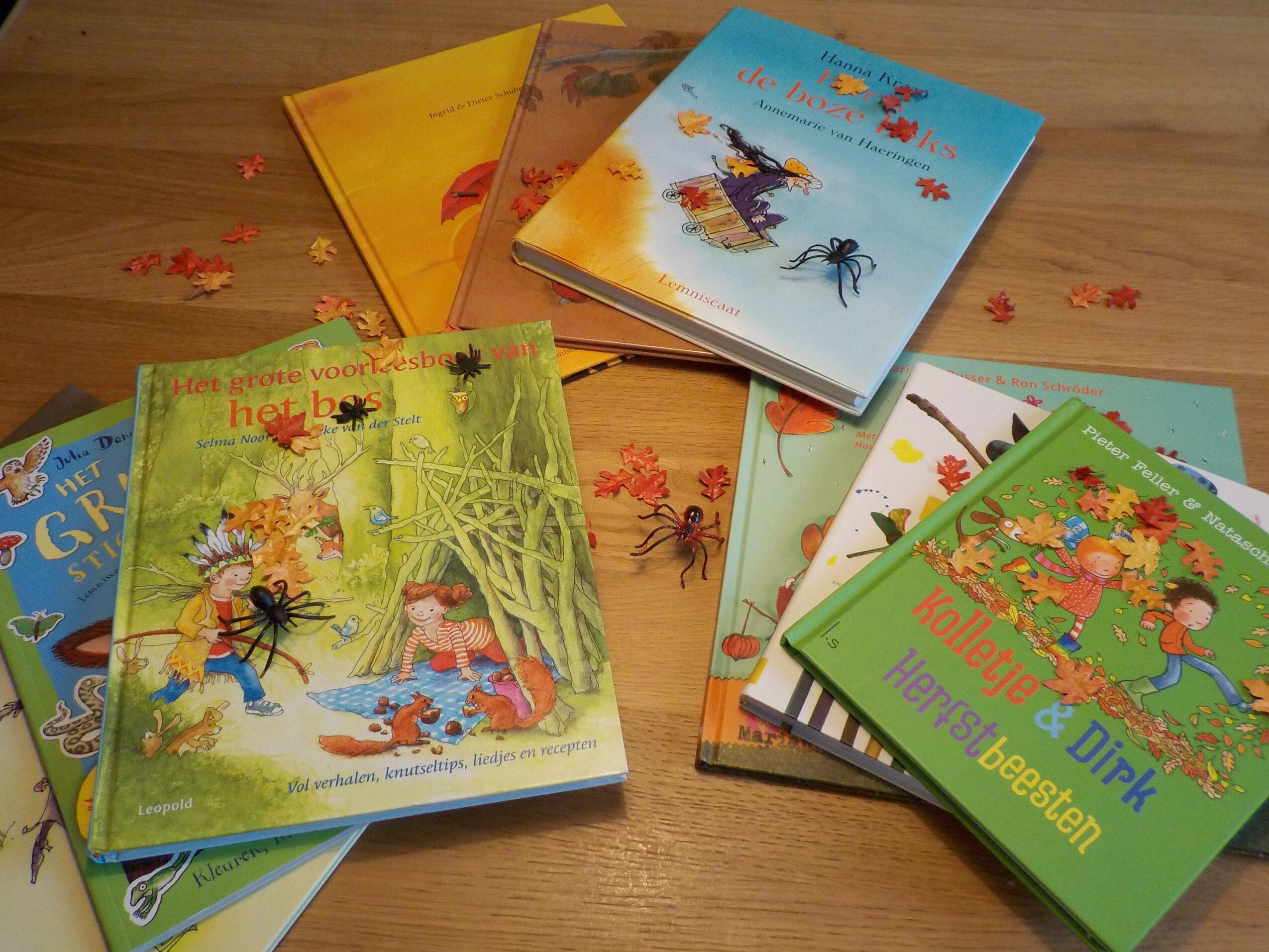 De leukste herfstboeken juf maike leerkracht website en blog - Bereik kind boek ...