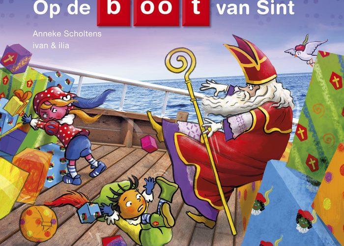 Op de boot van Sint samenleesboek