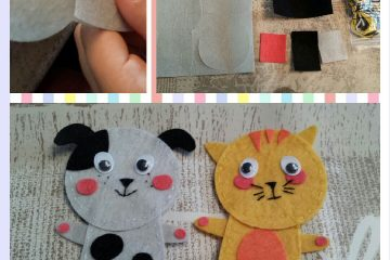 Vingerpoppetjes creative kids at work