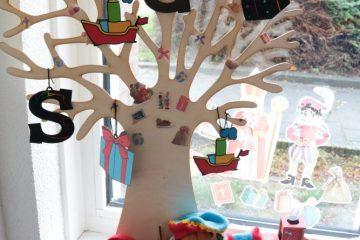Seizoensboom Sinterklaashoeken