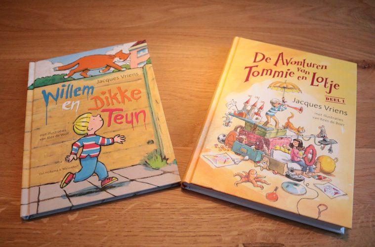 Win voorleesboeken Jacques Vriens