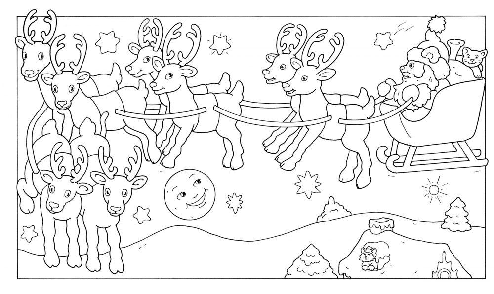 1000 Kleurplaten Nl Placemat Kerst Juf Maike