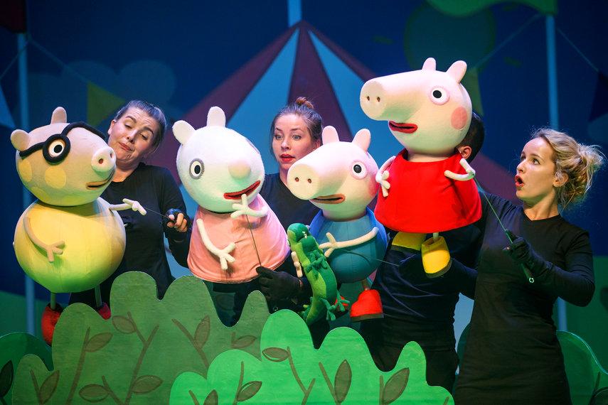 Familiemusical Peppa Pig - De grote plons