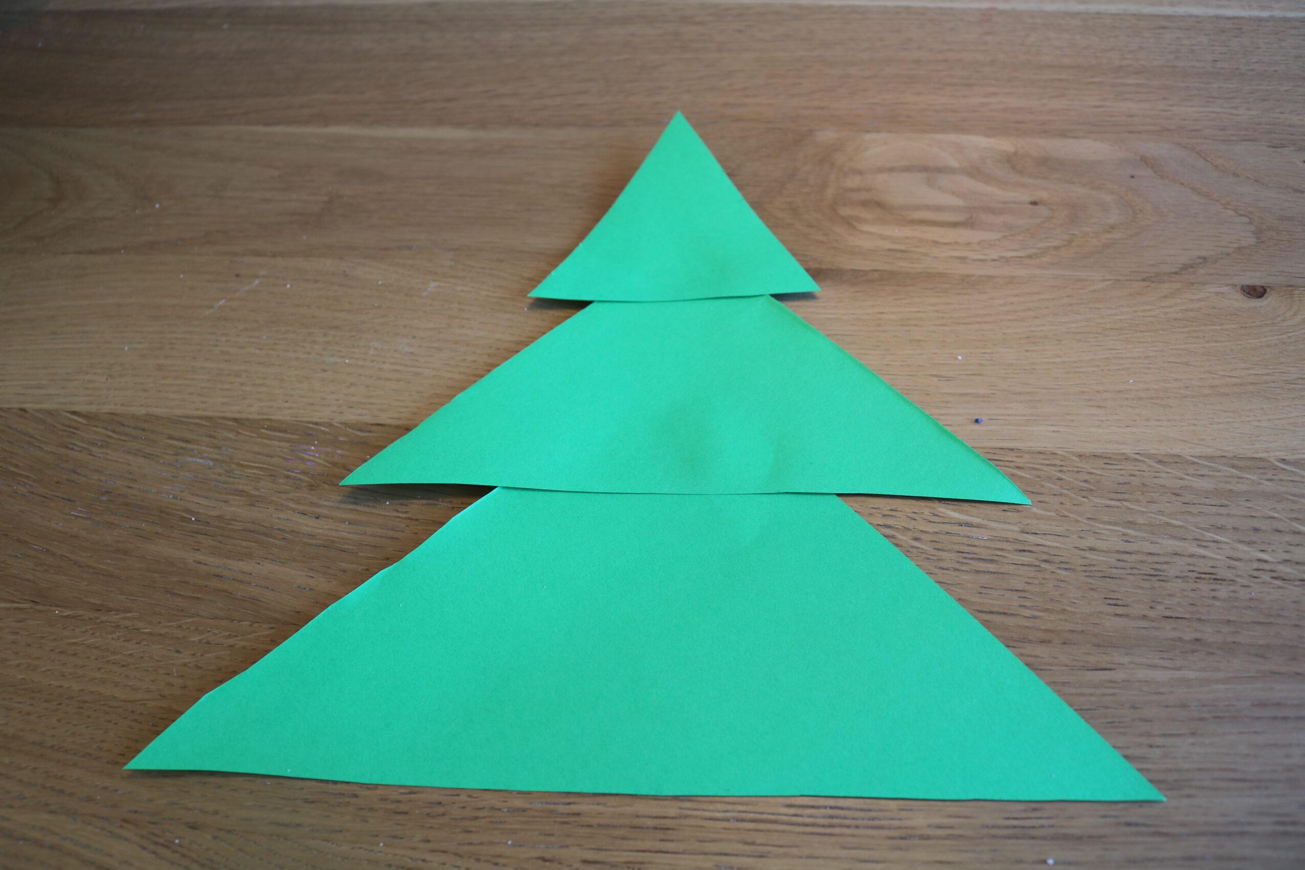 Drie driehoeken aan elkaar