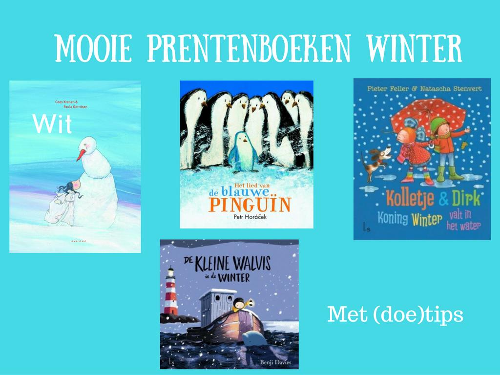 Mooie prentenboeken winter