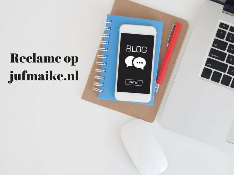 Reclame op jufmaike.nl
