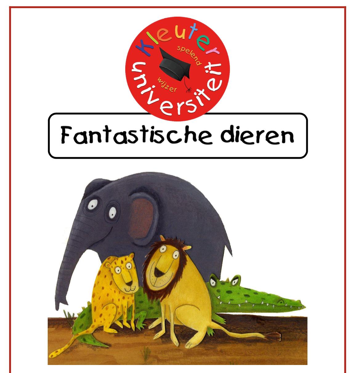 Project Fantastische dieren bij Kleuteruniversiteit