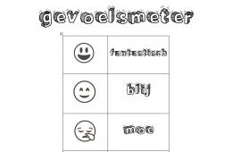 Gevoelsmeter in de klas