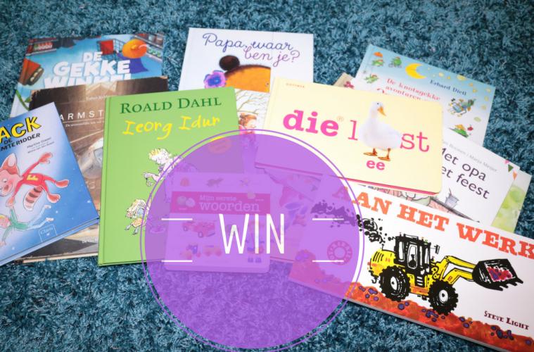 Win een mega groot boekenpakket