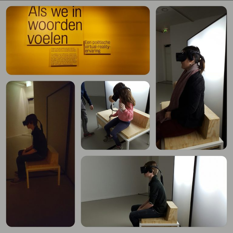 VR bril het Kinderboekenmuseum