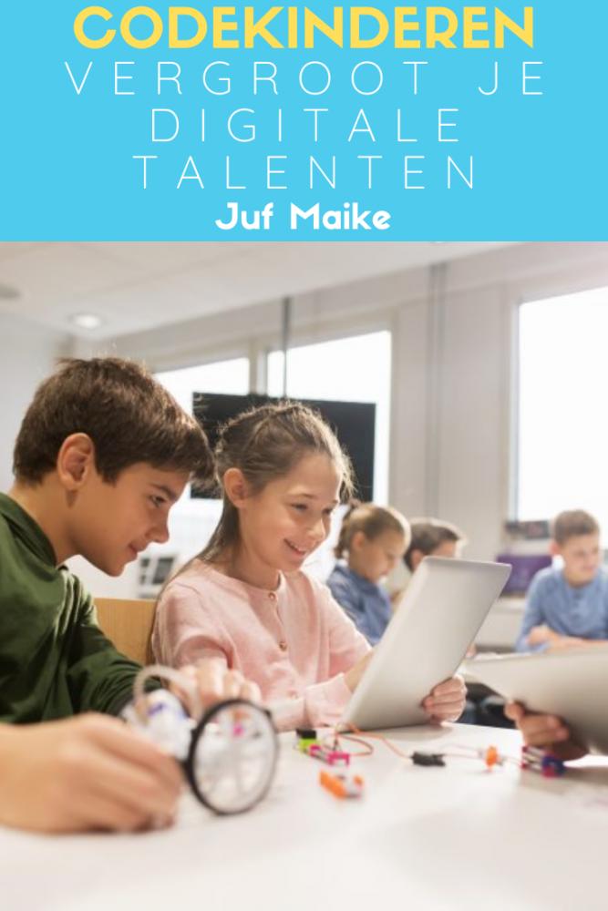 Codekinderen; Vergroot je digitale talenten; Voor leerkrachten van groep 3 tot en met groep 8