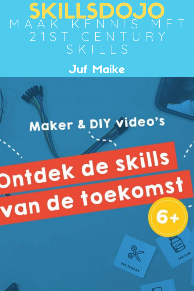SkillsDojo; Maak kennis met de 21st century skills