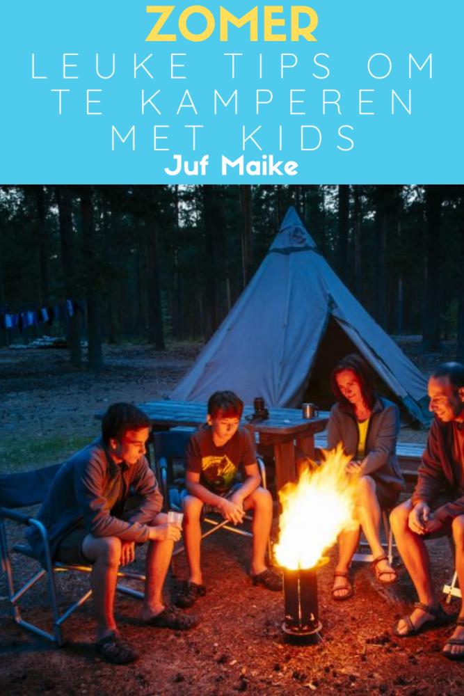 Leuke tips om te kamperen met kinderen