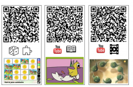 QR kaarten lente