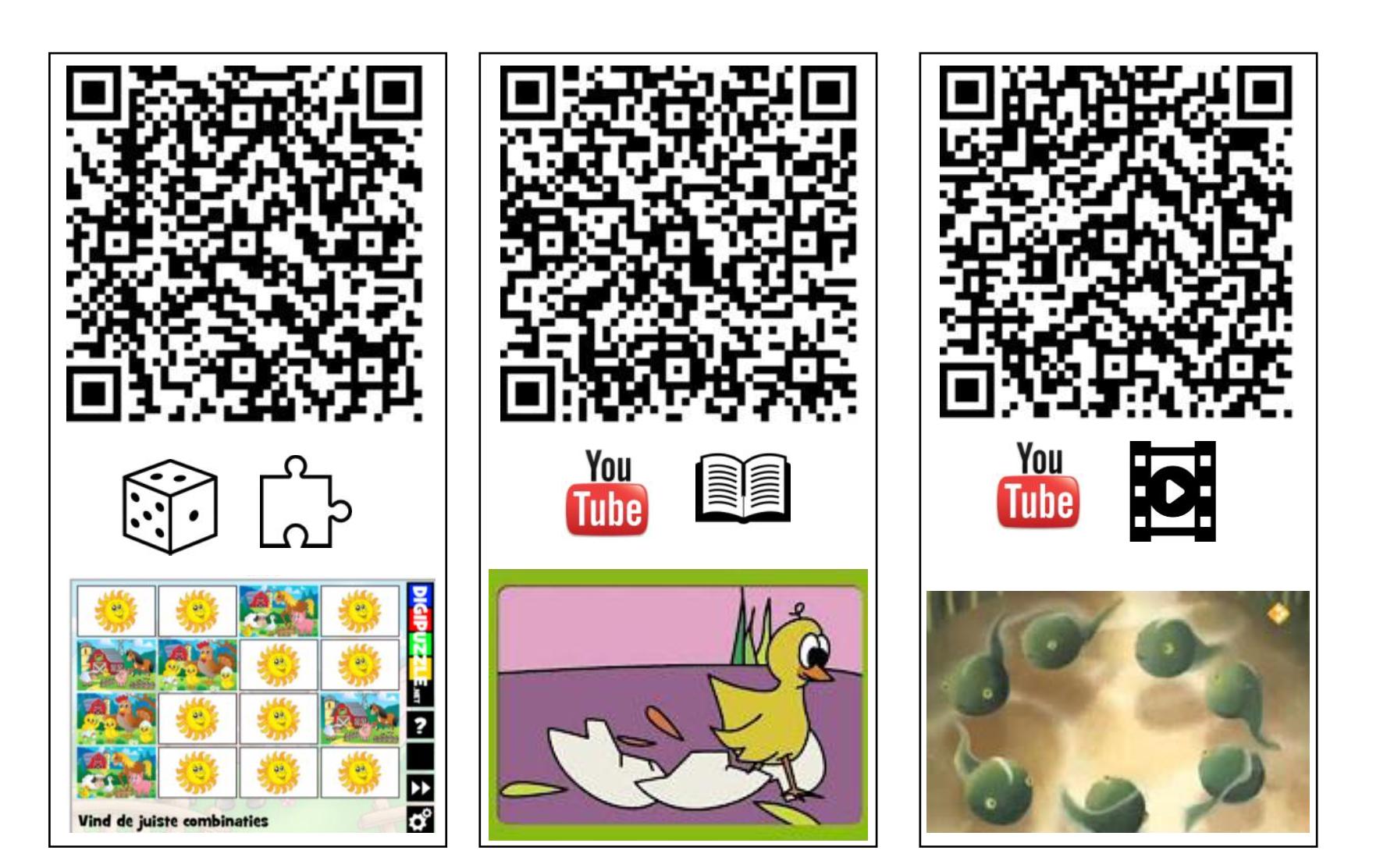QR-codes lente