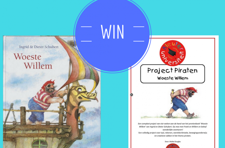 WIN project piraten en boek Woeste Willem