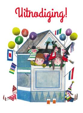 uitnodigingskaartje kinderfeest