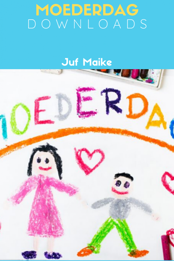 Downloads thema Moederdag; Oorkonde, begrijpend lezen verhaaltjes en kleurplaten