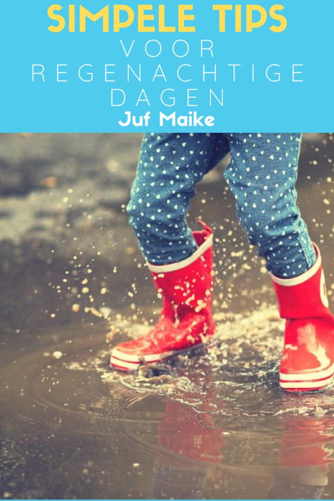 Tips voor regenachtige en koude dagen; Knutselen, bakken en nog veel meer
