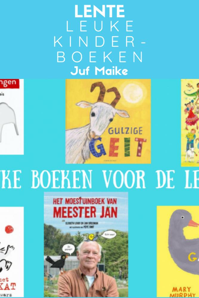 Kinderboeken passend bij thema lente
