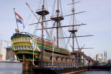 Scheepvaartmuseum in Amsterdam