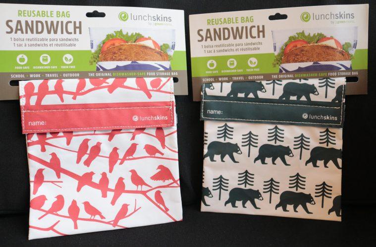 Lunchskins, het meeneemzakje voor je lunch