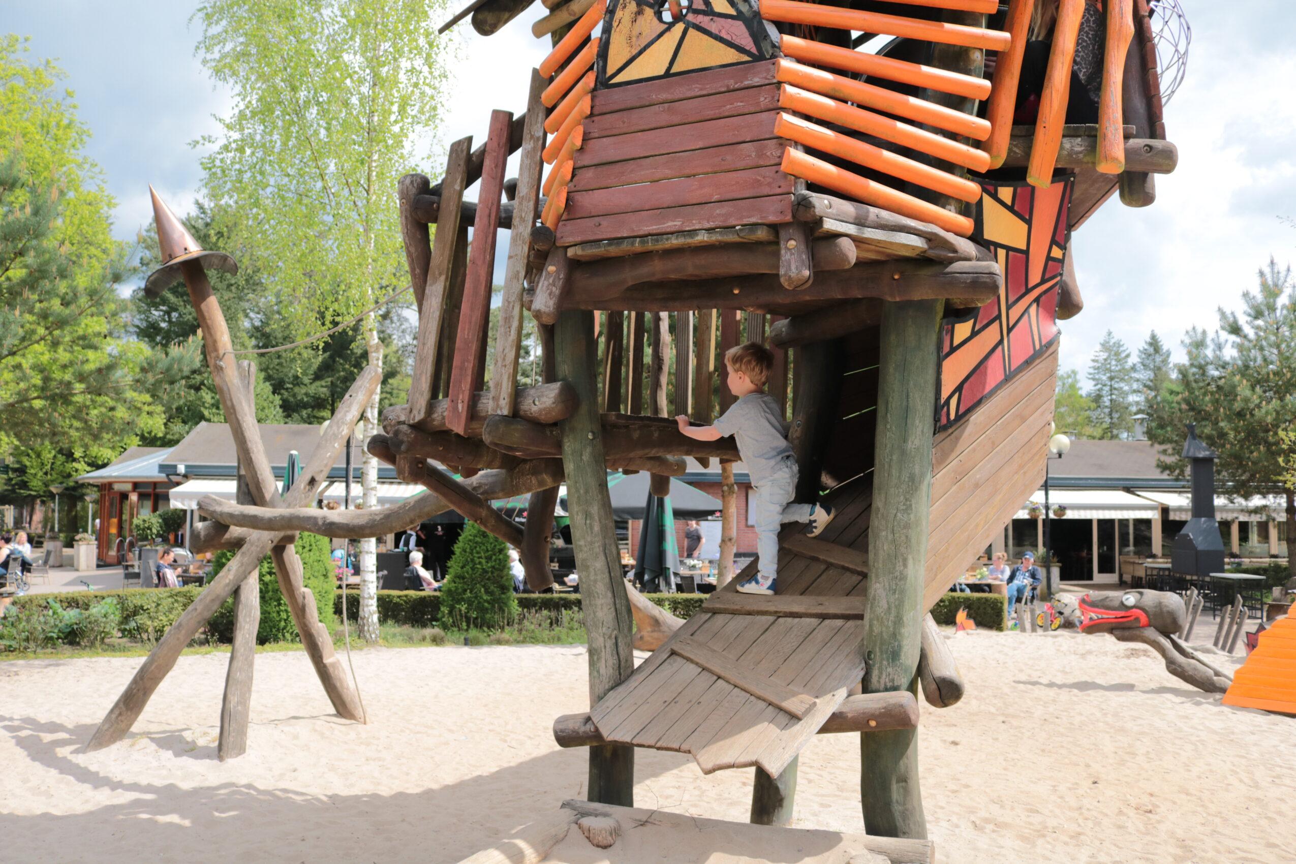 Landal Heideheuvel speeltuin
