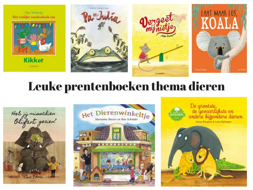 Leuke prentenboeken thema dieren