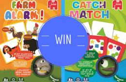 WIN: familiekaartspellen met knijpfiguren van Jumbo