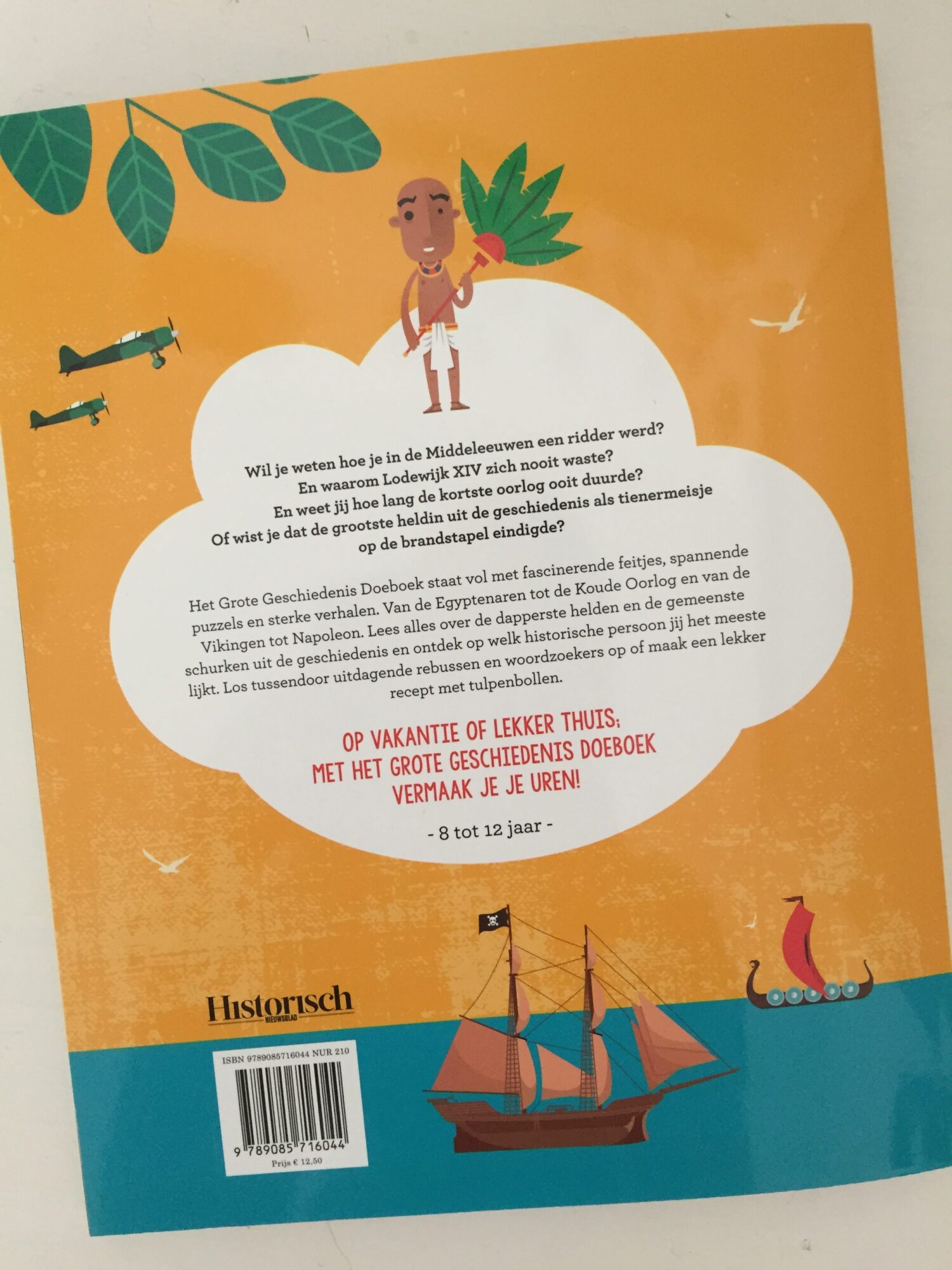 Young Scientist vakantieboek (uitgeverij Veen media)
