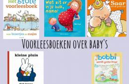 Voorleesboeken over baby's