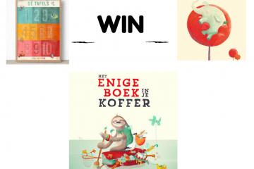 Win Het Enige Boek in je Koffer met posters